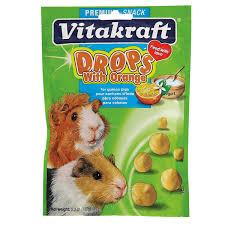 amazon com vitakraft guinea pig drops with yogurt treat 5 3