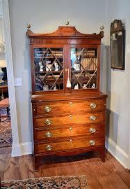Antique Secretary Desk With Bookcase by Hepplewhite Mahogany Inlaid Secretary Bookcase Raymond James