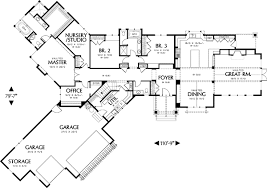 one level house plans best of one living 69085am architectural designs house