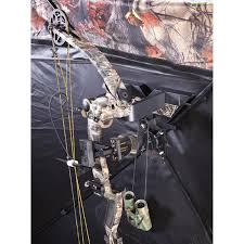 Bow Hunting From Ground Blind Hunting Blind Bow Holder Camera Bracket 222636 Blind