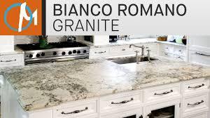 Granite Kitchen Tops Bianco Romano Granite Kitchen Countertops Marble Com Youtube