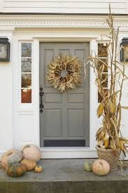 Front Door Decorations For Winter - best 25 fall front doors ideas on pinterest fall decorating