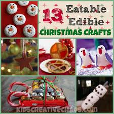 13 easy eatable edible christmas craft activities for kids