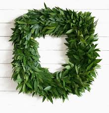 fresh wreaths fresh bay leaf wreaths mcfadden farm