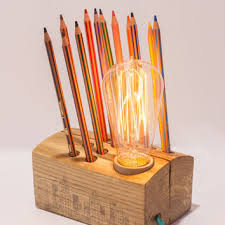 How To Make Wooden Desk Lamp by Best Wood Desk Lamps Products On Wanelo