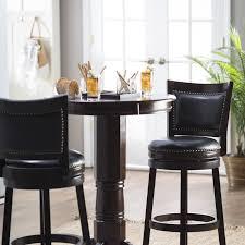 high pub table set bar table set amazoncom black retro chrome bar table set s barstool