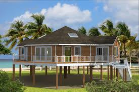 Stilt House Plans Home Plans Built On Pilings