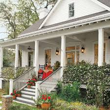 one level house plans with porch 17 house plans with porches southern living