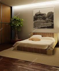 chambre style japonais intérieur de chambre à coucher de style japon photographie auriso