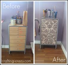 ikea office drawer makeover
