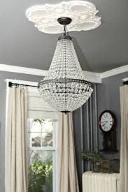 Potterybarn Chandelier Hanging A Chandelier In The Living Room A Review