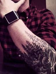 forearm forest http ifltattoos com forearm forest tatts