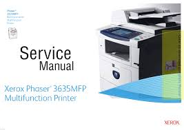 download free pdf for xerox phaser 3635mfp multifunction printer