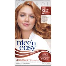 best box hair color for gray hair clairol clairol nice n easy permanent hair color 8wr reddish