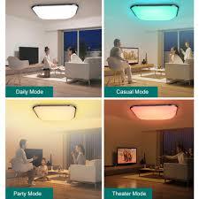 Wohnzimmer Deckenleuchten Design 36 Watt Rgb Led Deckenleuchte Fernbedienung Wohnzimmer