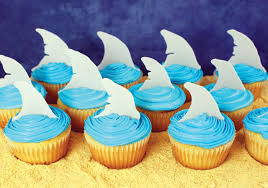cupcake toppers fin cupcake toppers