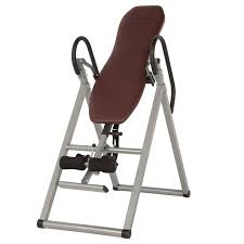 Inversion Table For Neck Pain by Amazon Com Exerpeutic Inversion Table With Comfort Foam Backrest