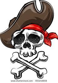 pirate skull crossbones vector illustration stock vector 653218816