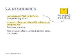 babysitting resume templates nanny objective download babysitter