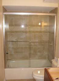 Sliding Bathtub Shower Doors Alluring Dreamline Enigma X 56 In To 59 62 Frameless Sliding Tub