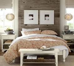 stratton storage platform bed with baskets pottery barn bedroom