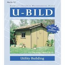 lowe s home plans shop u bild utility building woodworking plan at lowes com
