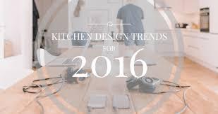 kitchen design trends for 2016 u2013 john flynn architecture