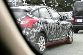 lexus sc300 spoiler spy shots 2012 ford focus sedan and hatch caught new spoiler