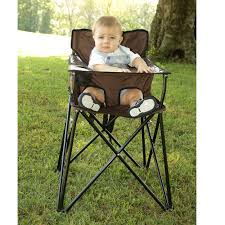 Go Outdoors Chairs Baby Go Anywhere Highchair Brown Jamberly Hb2004 Kid U0027s Chairs