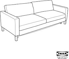 Ikea Sofa Bed Frame Download Ikea Karlstad Sofa Bed Frame U0026 Cover Assembly Instruction
