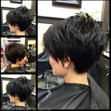 women haircut tapered neck behind ear 20 layered short hairstyles for women thicker hair hair cuts