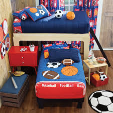 Bunk Bed Coverlets New Boys Sports Soccer Basketball Football Bunk