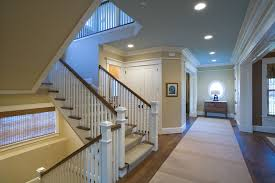 staircase moulding entry traditional with trim marble floor trim