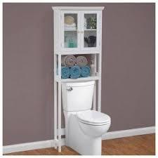 Bathroom Storage Shelves Over The Toilet Storage Cabinet Visualizeus