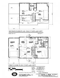 floor plan for a 28 x 36 cape cod house plans