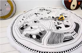 map rug soft neutral design for nursery and play room u2013 bravely
