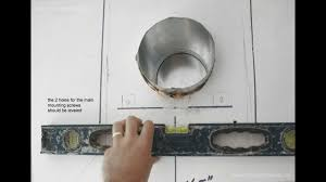 How To Install Wall Kitchen Cabinets by How To Install Wall Mount Range Hood Youtube