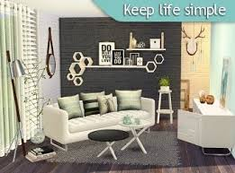 Simple Living Room Furniture Designs 35 Best Sims 4 Living Room Images On Pinterest Living Room