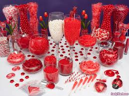 southern blue celebrations red candy buffets