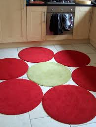 Round Red Rug Round Area Rugs Ikea Rugs Decoration