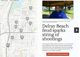 Map Of Delray Beach Delray Beach Feud Sparks Shootings Sun Sentinel
