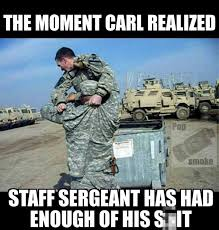 First Sergeant Meme - the 13 funniest military memes of the week 12 18 15 military com