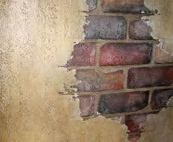 Fake Exposed Brick Wall Italian Plaster And Faux Brick Faux Work Pinterest Faux