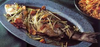 recettes de cuisine marmiton poisson recette poisson entier à la vapeur à la chinoise