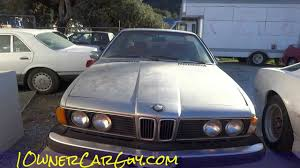 bmw cars for sale by owner e24 bmw 630csi 6 series coupe 1 owner for sale cheap 895