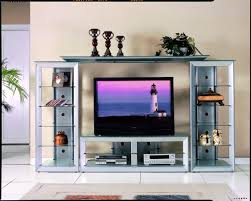 Living Room Glass Tv Cabinet Designs Homelegance Metal And Glass Tv Stand 8011 T