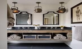 home decor industrial style bathroom simple industrial style bathroom vanities interior
