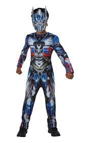 bumble bee u0026 optimus prime boys fancy dress transformers robot