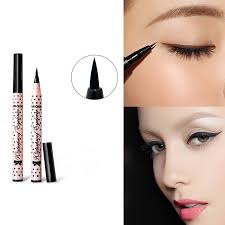 waterproof black eyeliner liquid eye liner pencil pen makeup high quality estics drop shipping cosmetic free
