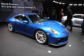 porsche unveils 911 gt3 touring package as u0027purist u0027s u0027 911 autocar
